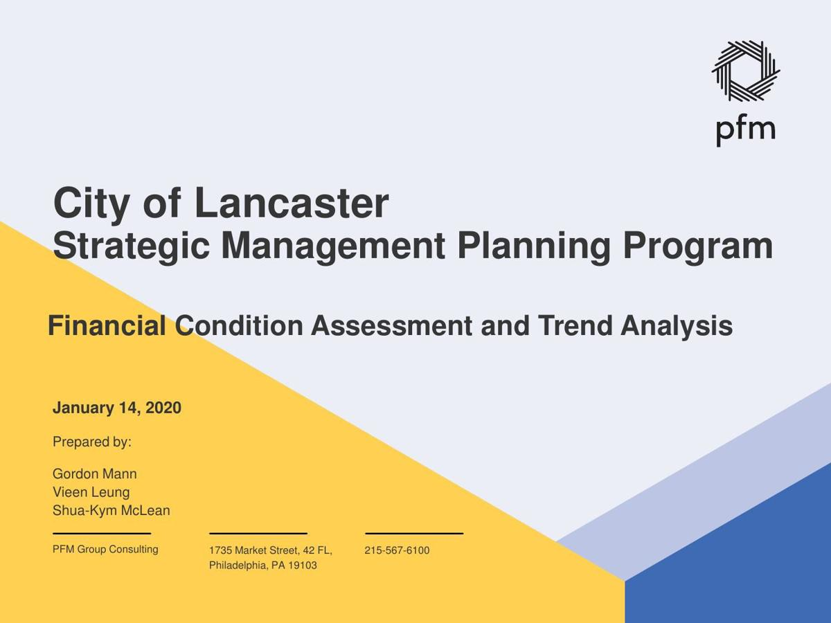 City of Lancaster: Financial Condition Assessment (PDF)