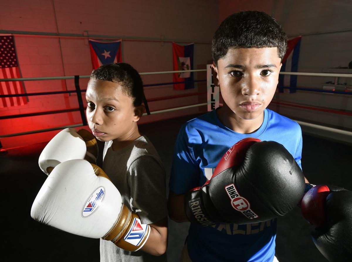 "Will ""Puba"" Torres, left, and Jasiah Ortiz-Jr Olympic Boxers"