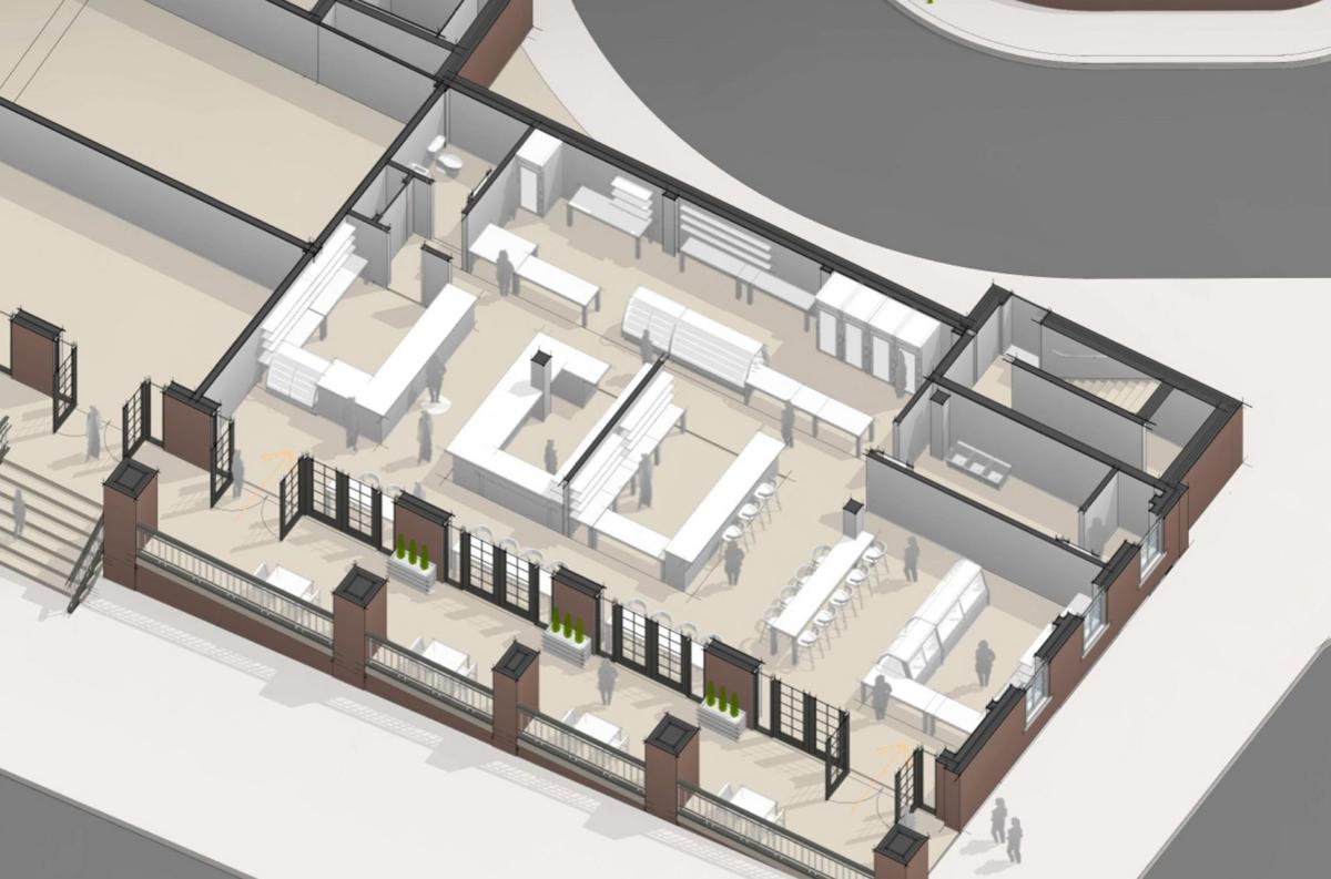 Market at the Wilbur plans