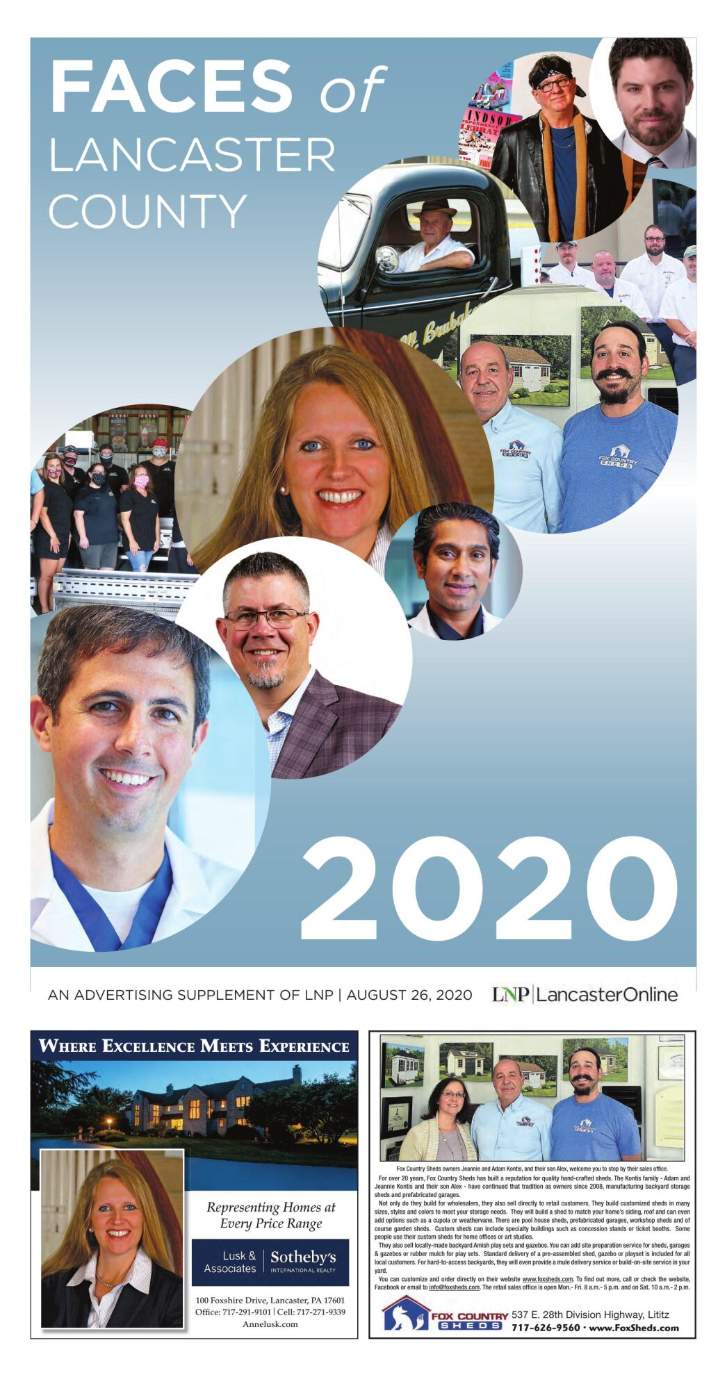 Faces of Lancaster County 2020