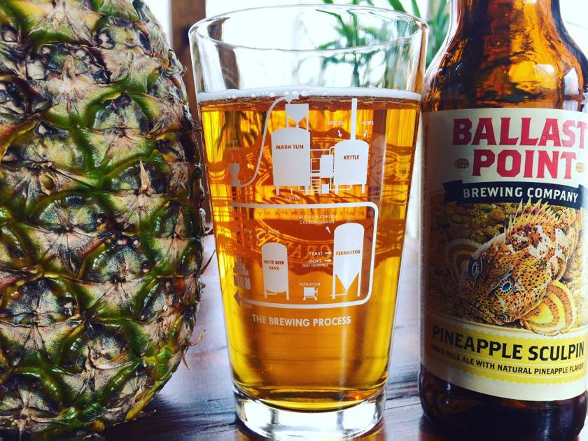 2b13980d Ballast Point Brewing Co.'s Pineapple Sculpin brings the tropical to the  tundra | Food | lancasteronline.com