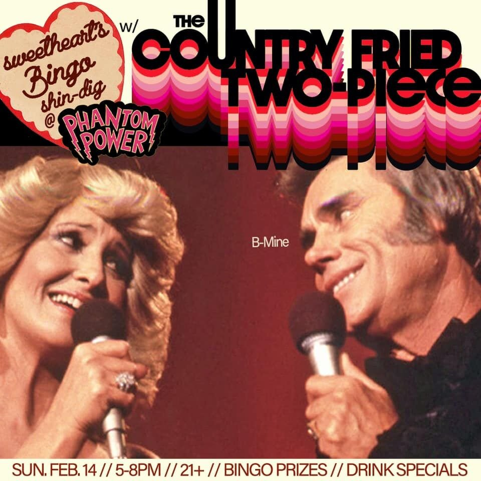 country fried two piece valentines