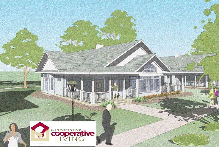 Garden Spot Village: Co-op house