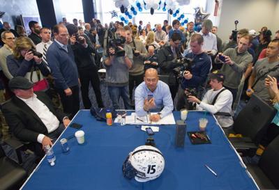 James Franklin Signing Day 2015