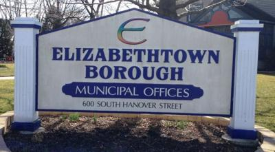 Elizabethtown Borough sign