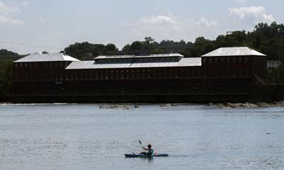 July 4 kayaking