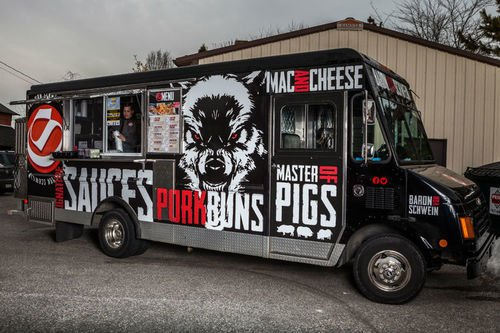 Baron Von Schwein food truck