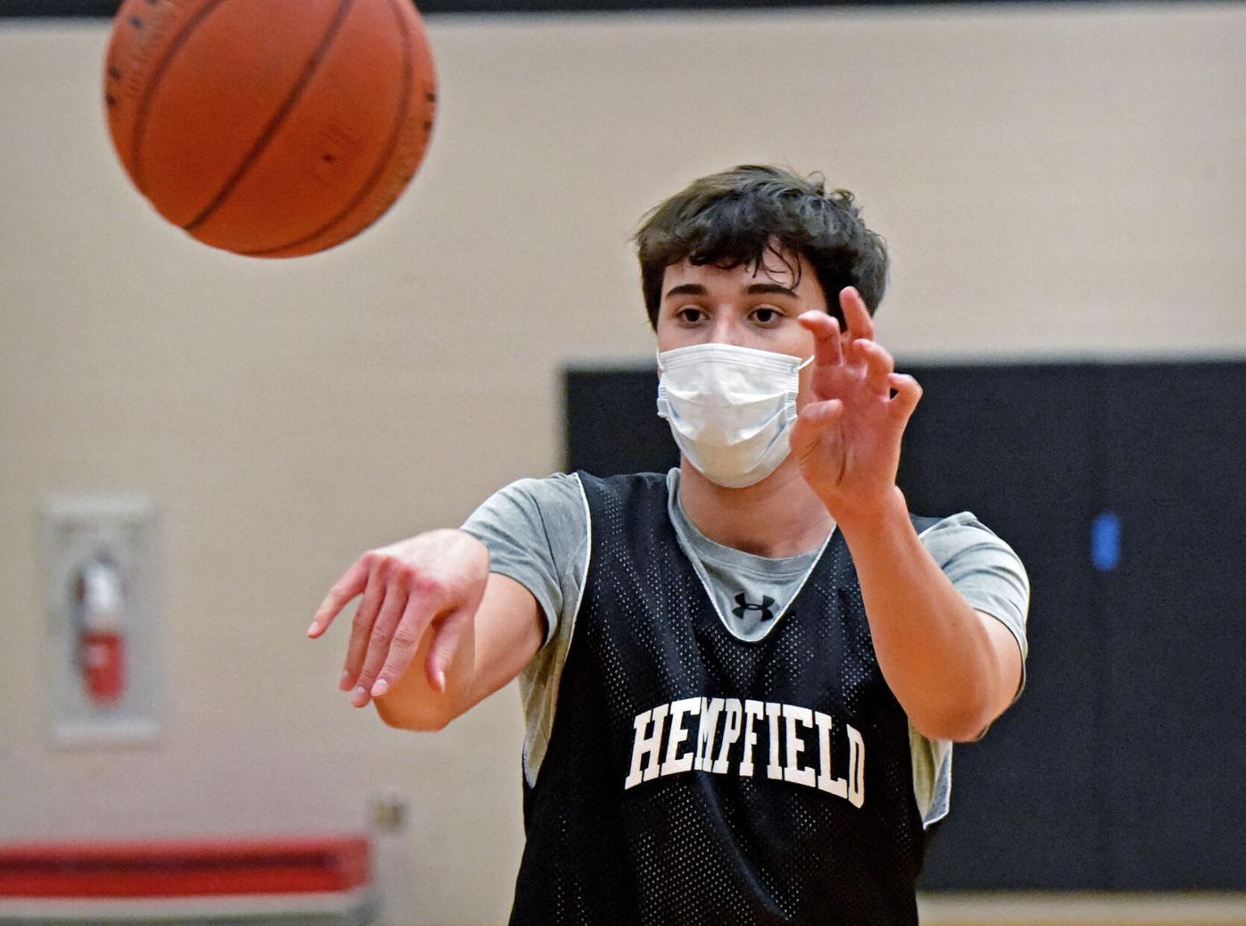 Hempfield basketball masks