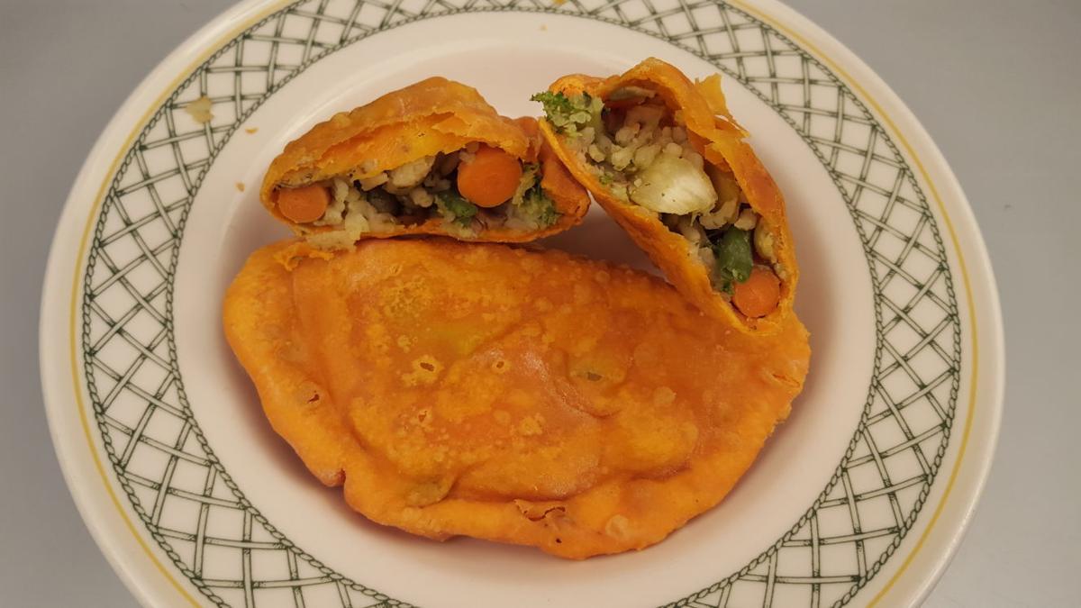 Vegetable empanada