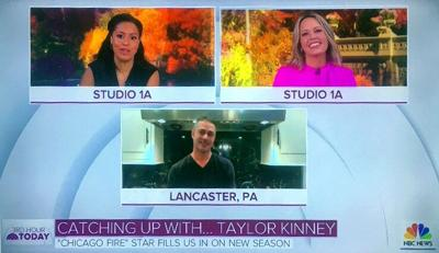Taylor Kinney on Today Show