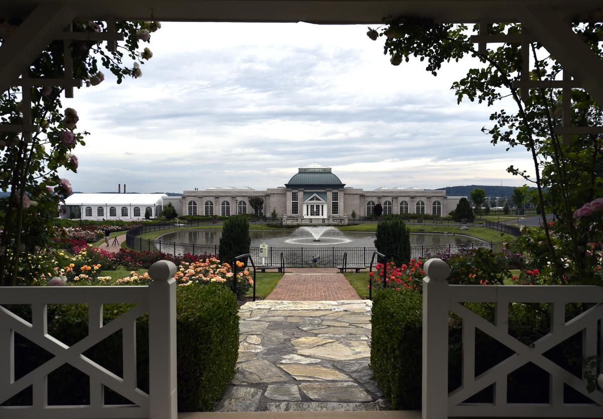 Roses in Bloom-Hershey Gardens