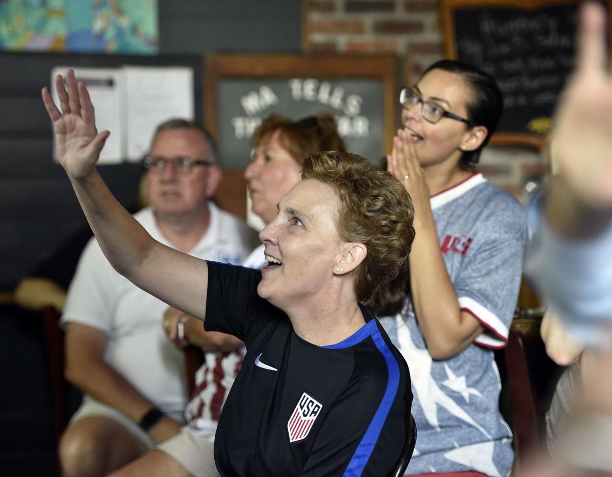 U S  women's national team soccer player has ties to