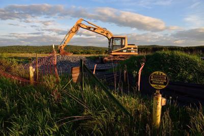 Progress on Mariner East II pipeline, 2015