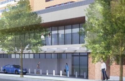 Rendering Lancaster General Hospital emergency department expansion