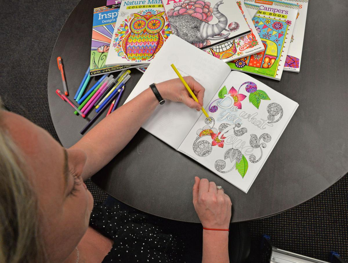 coloring books for are all the rage trending