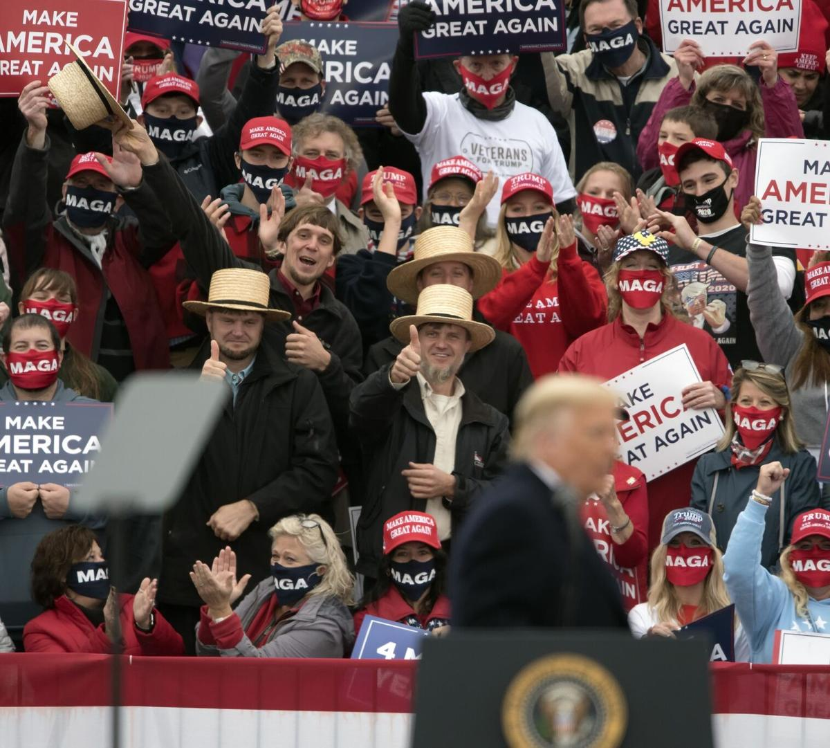 President Donald Trump Visits Lancaster