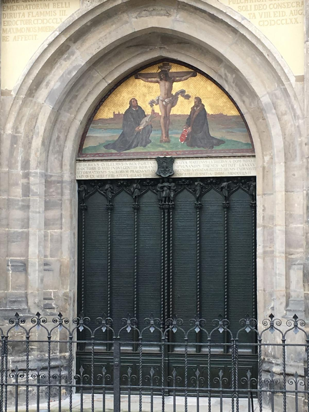 Decorating martin luther church door photos : How Martin Luther's 95 Theses altered history | Faith + Values ...