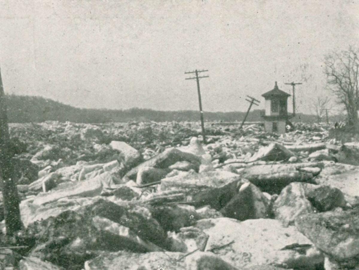 Susquehanna ice flood in 1904