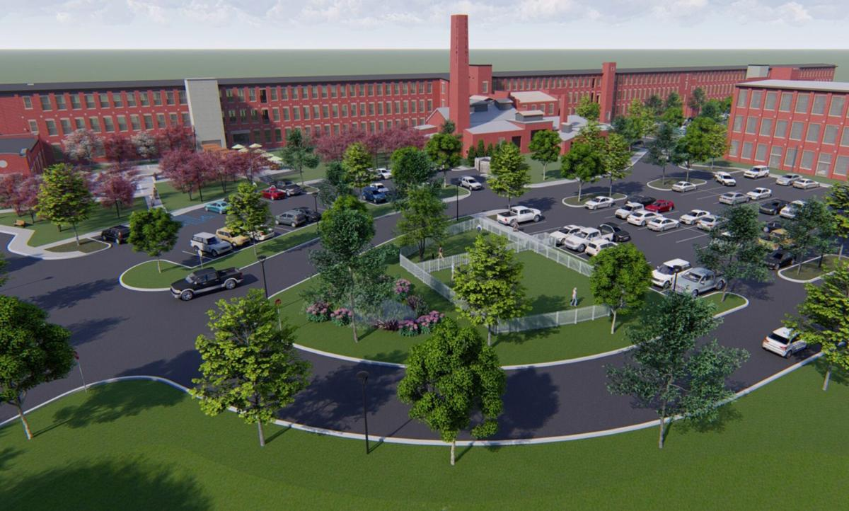 Stehli Silk Mill redevelopment rendering 1