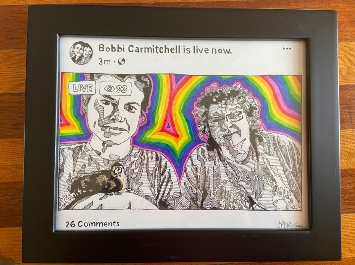 Bobb Carmitchell and Ashley McFalls portrait