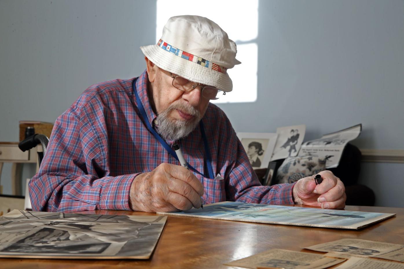 Paul Hoover drawing