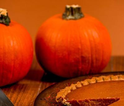 pumpkins and pie