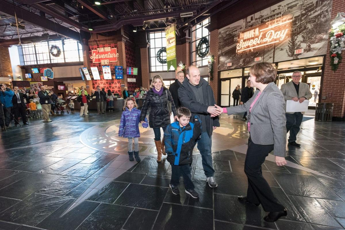 Mount Joy man recounts family's day as Hershey's Chocolate World's ...