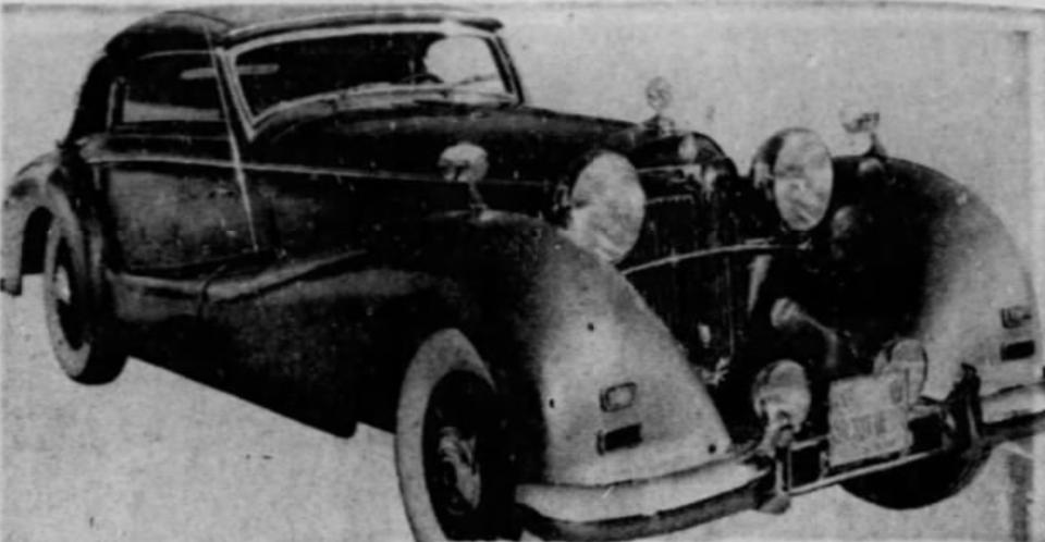 Hitler car, 1971