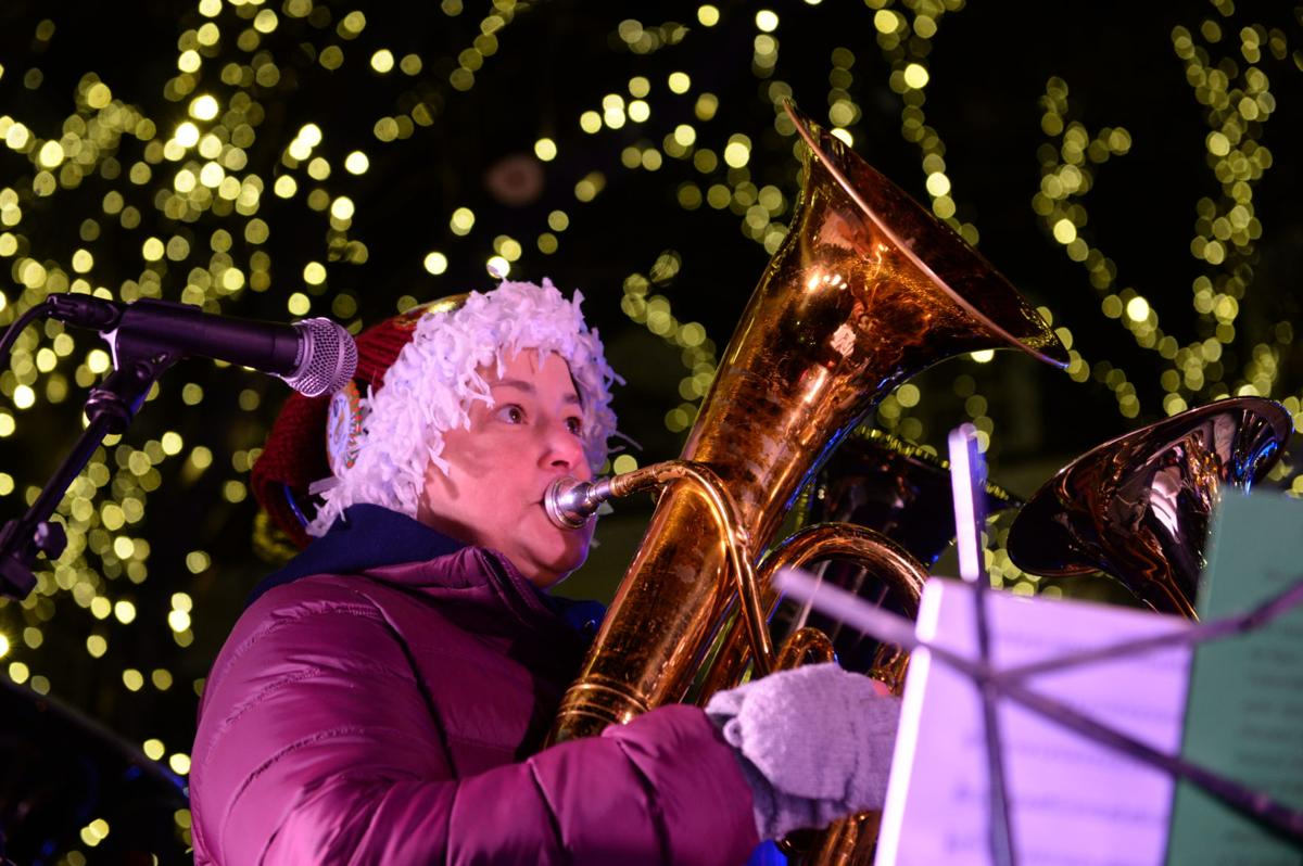 the letter c tree lighting amp tuba kick season in 36663