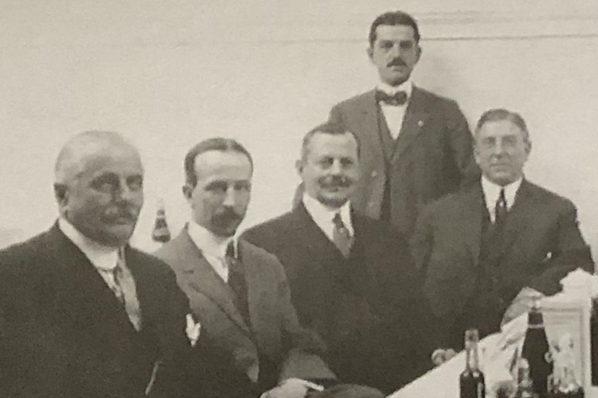C Emlen far right - Frank W Woolworth far left  History.org.jpg