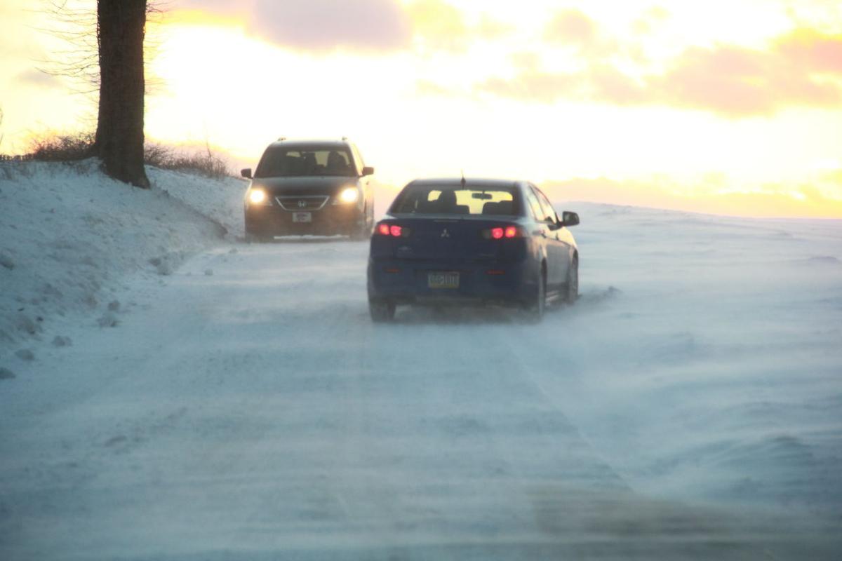Drifting snow 4