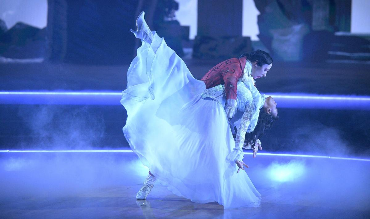 Johnny Weir waltz 1 Dancing with the Stars