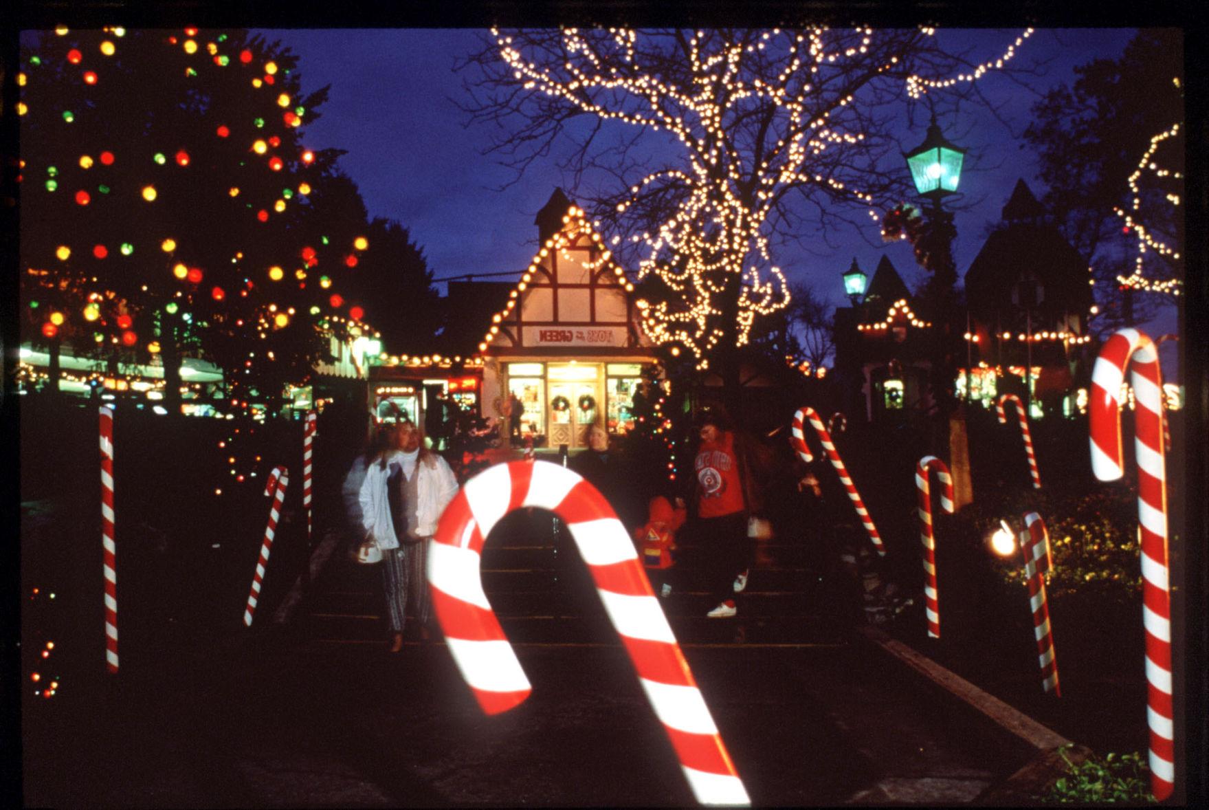 Lights, rides and holiday cheer at Hersheypark's Christmas ...