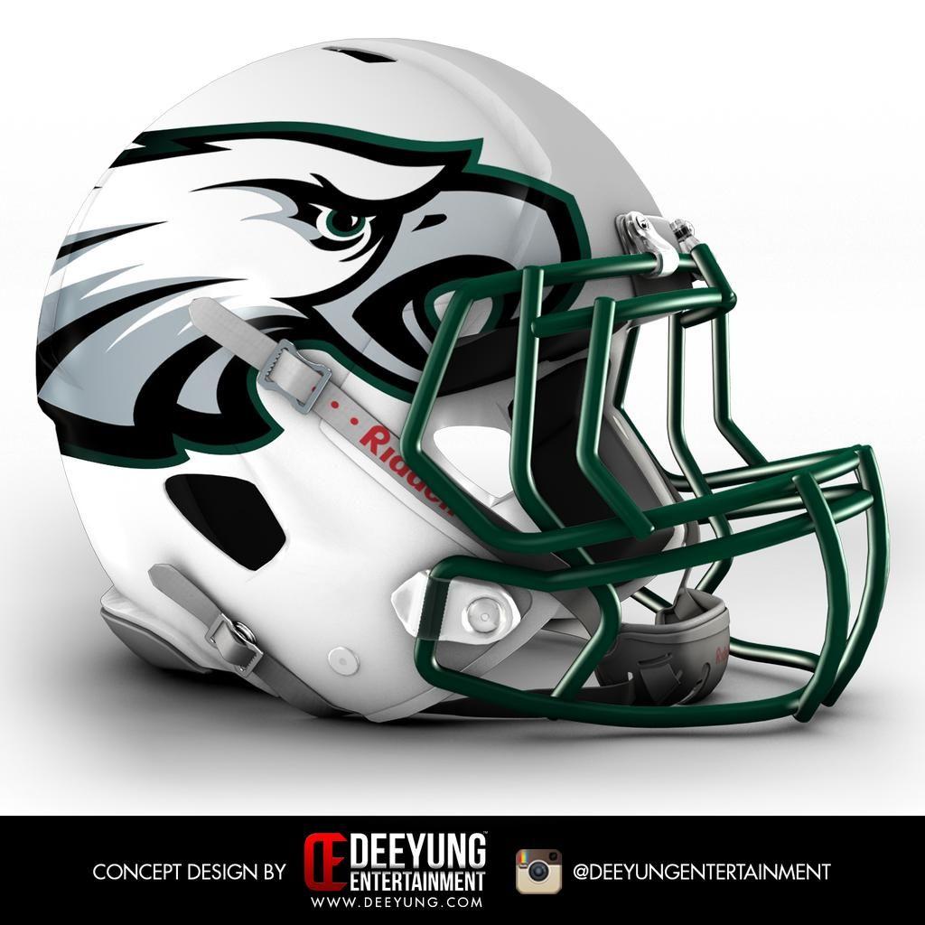 Which futuristic NFL helmet design do you like best