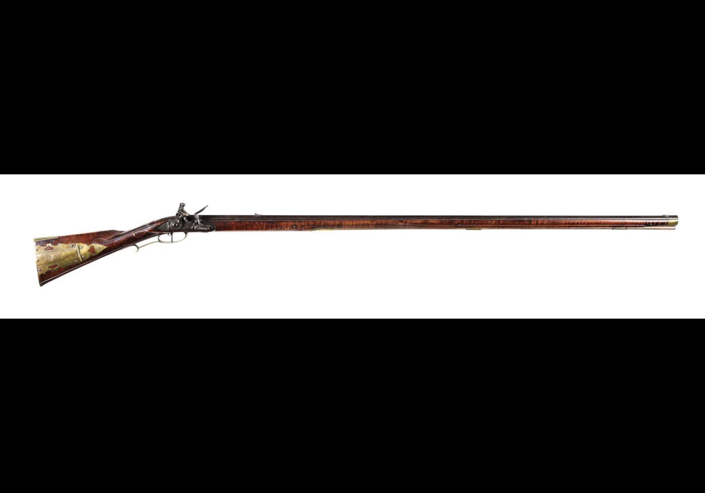 Morphy's Lancaster Kentucky rifle