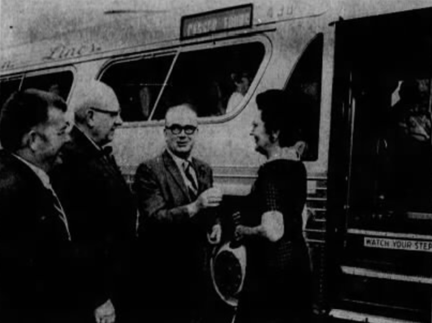 Tour bus 1970