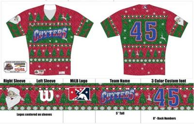 Custom Christmas Sweaters.Williamsport Crosscutters To Wear Ugly Christmas Sweaters