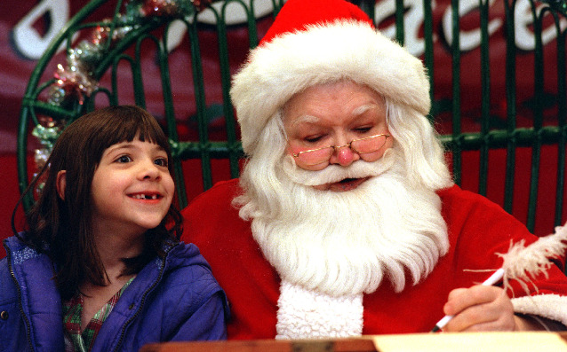 She was the REAL Santa