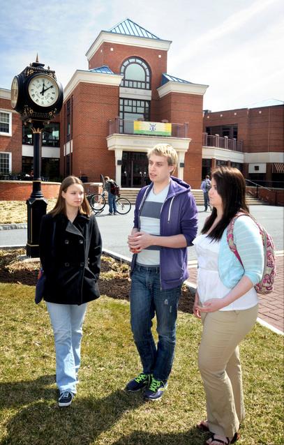 College discipline gay slur