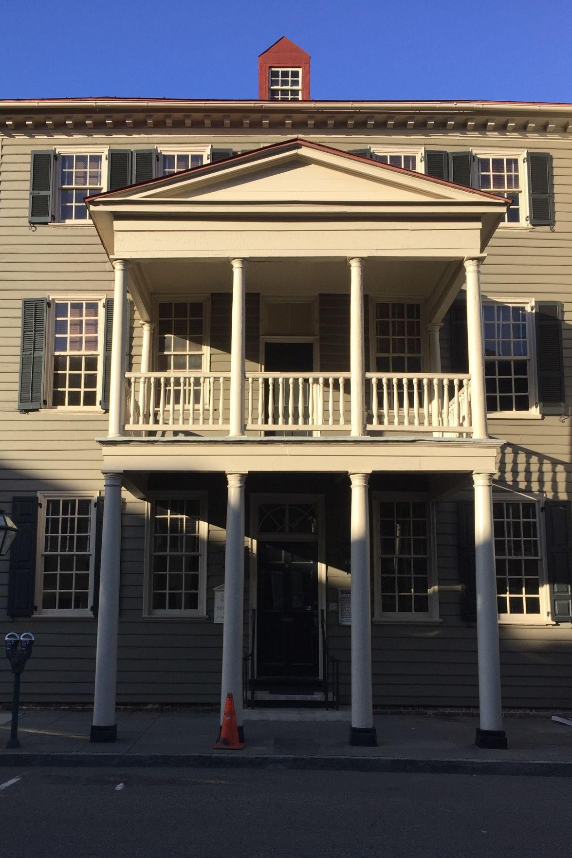 David Ramsay house Scribbler