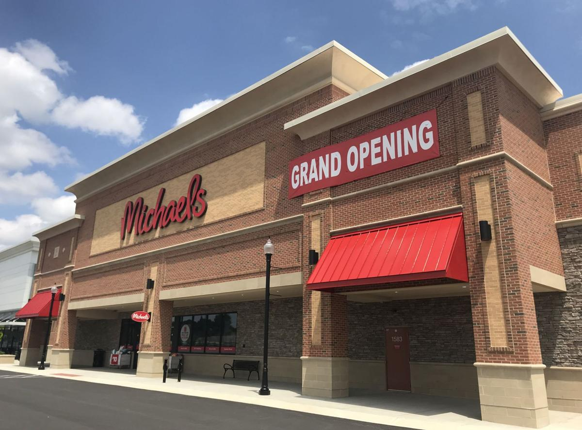 Michaels opens in the shoppes at belmont arts and crafts for Arts and crafts store nearby