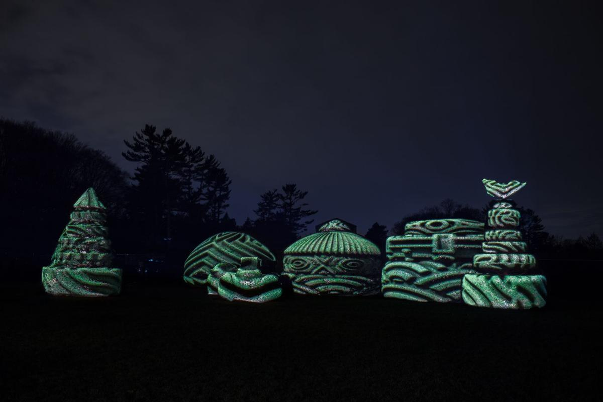 Lancaster Garden Walk: Longwood Gardens Lights Up The Night With Nightscape