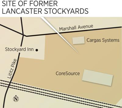 stockyards map