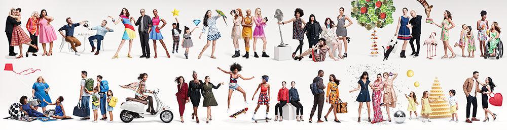 Target designer collaborations