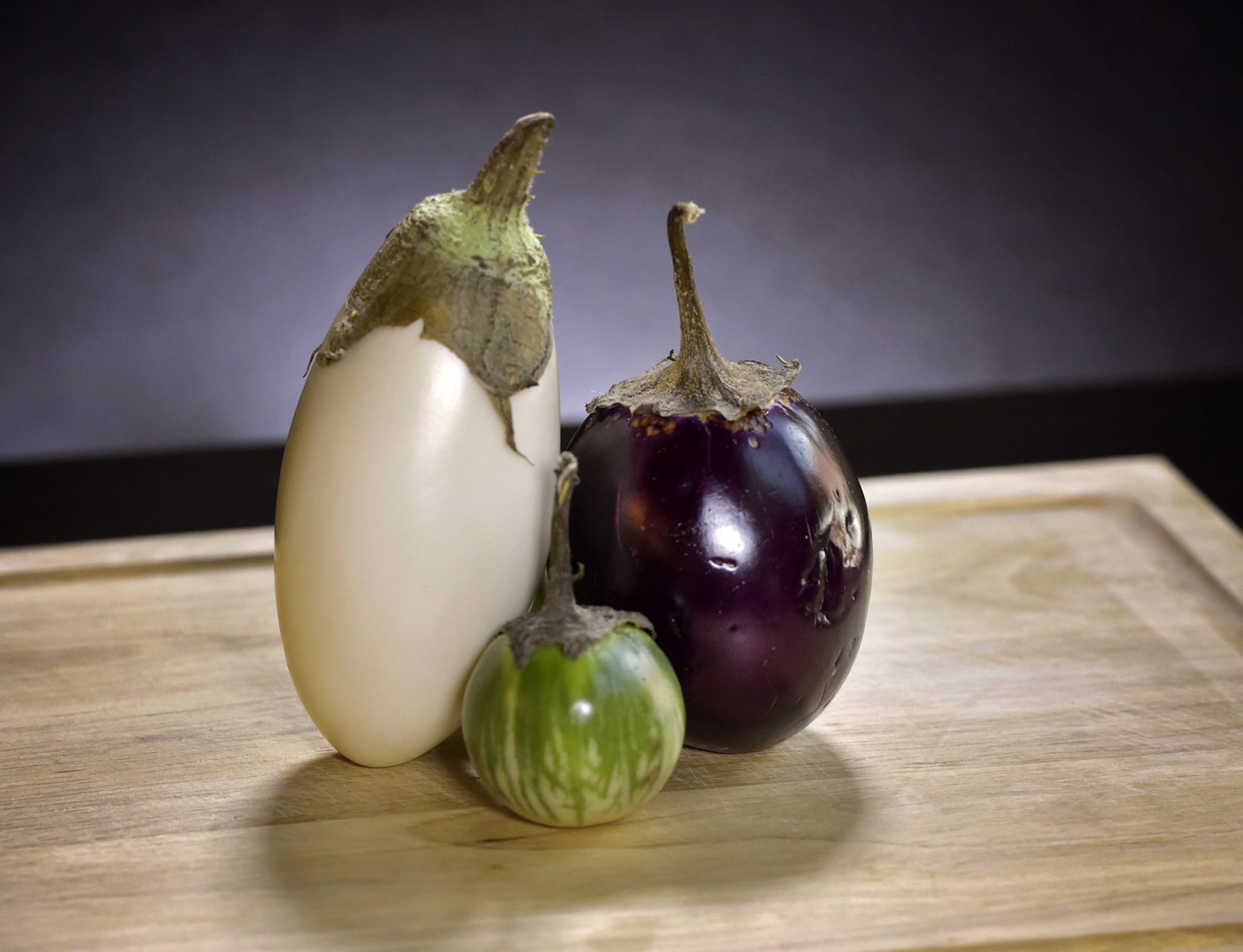 Color of eggplant: features and versatility of application