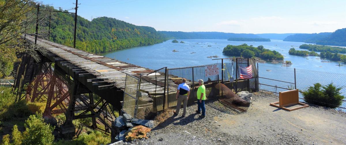 Safe Harbor railroad trestle
