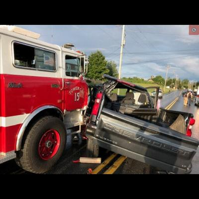 Ephrata fire truck accident July 3, 2021