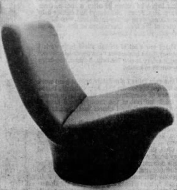 Curvy chair, 1971