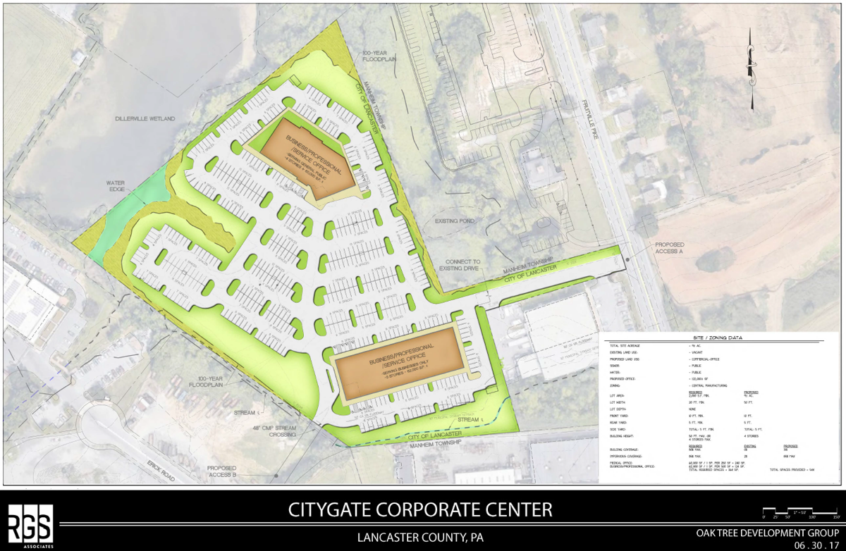 120K square feet of office buildings proposed for Fruitville Pike ...