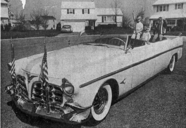Loyalty Day Parade car